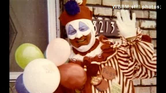 Serial killer Gacy's clown suits now in a museum