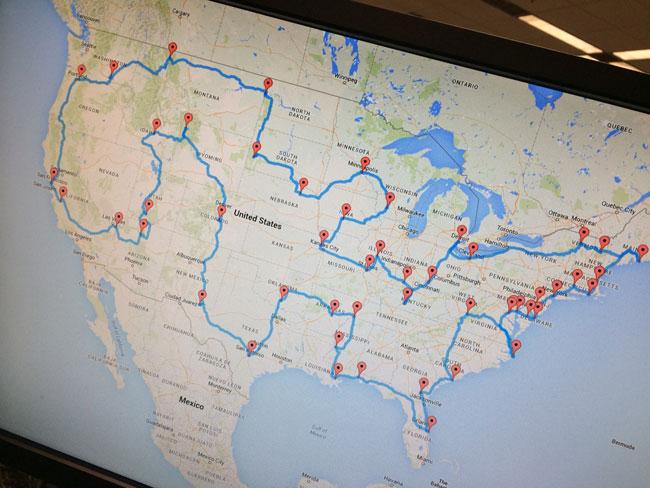 road trip map_89875