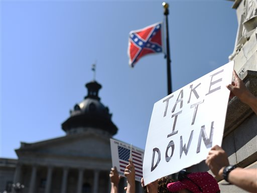 Charleston Shooting Confederate Flag_122258