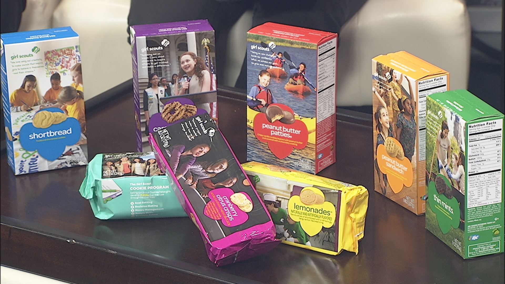 Girl Scout cookies now on sale_160927