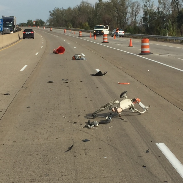 I-65 construction worker accident scene_213490