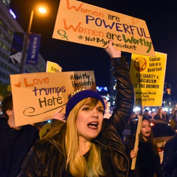 Protestors Wane 15