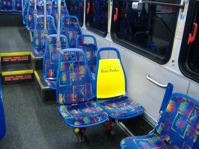 rosa parks seat citilink bus_222333