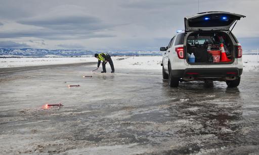 Ice Storm Paralyzes Parts Of Oregon Washington State