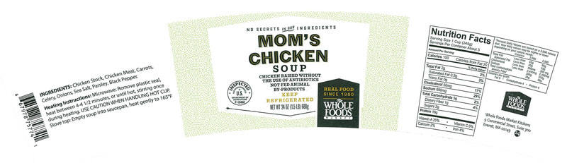 kettle cuisine mom's chicken soup_233284