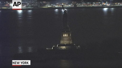 Statue of Liberty Lights_246247