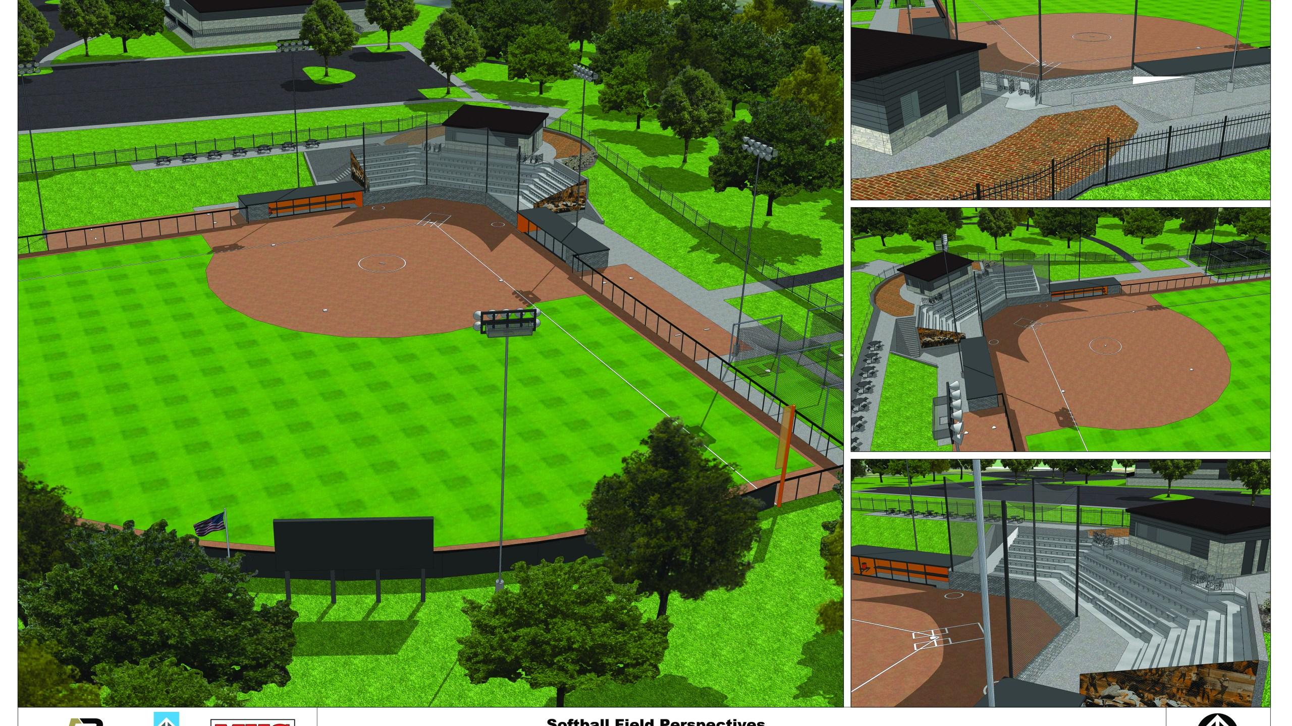 Indiana Tech softball stadium rendering_252142