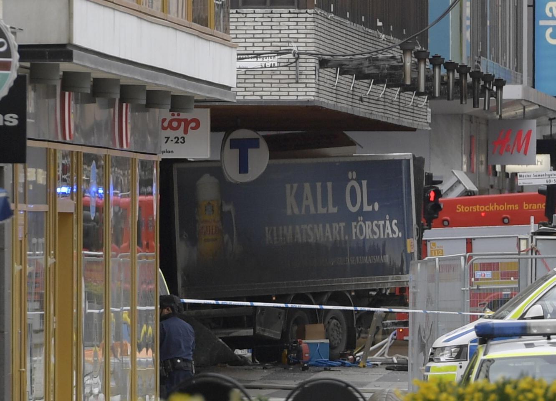 Sweden Truck Crash_252713