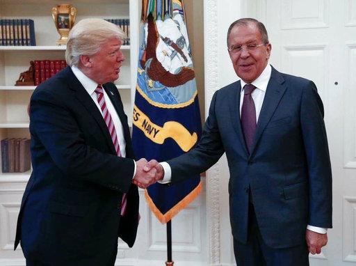 Donald Trump, Sergey Lavrov_259542
