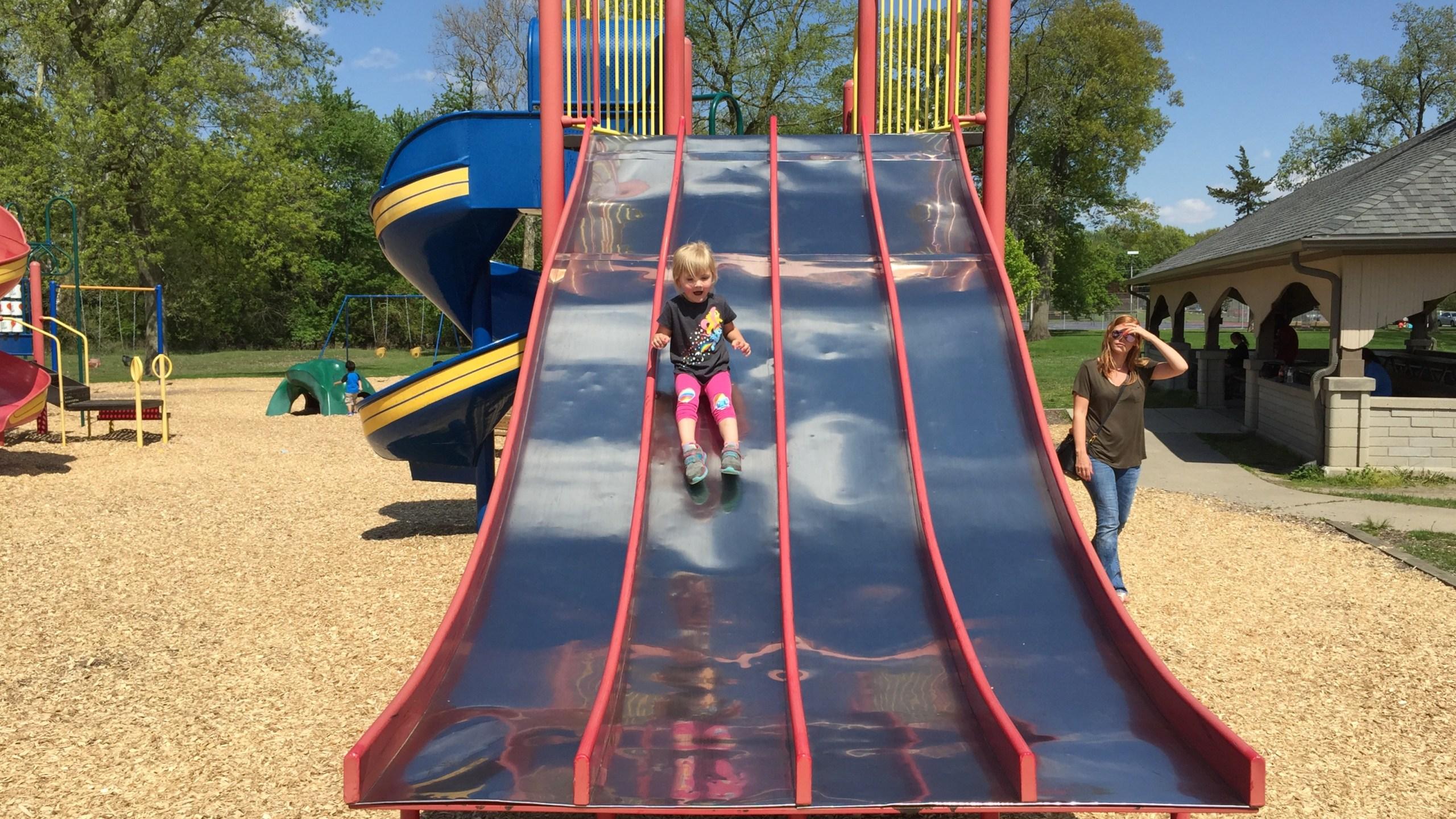 Park playground Fort Wayne Foster Park_261300