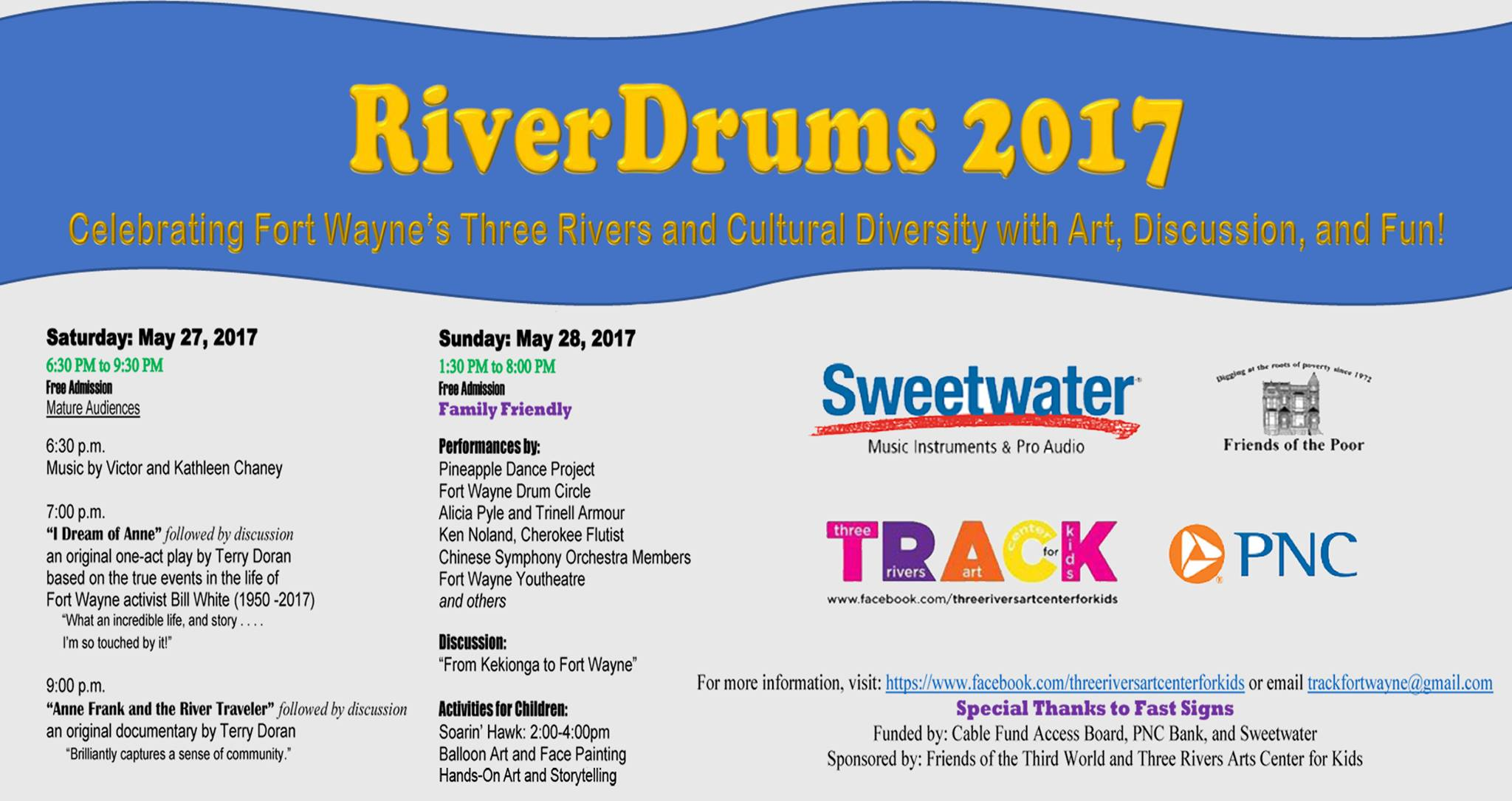 RiverDrums 2017 has a full schedule for annual event