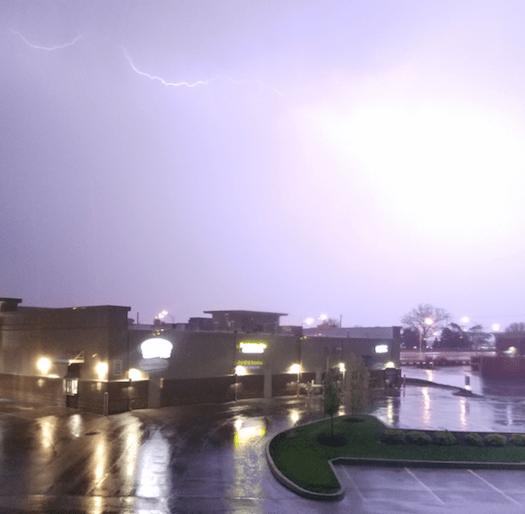 Andrew Butler lightning IPFW Student Housing_256352