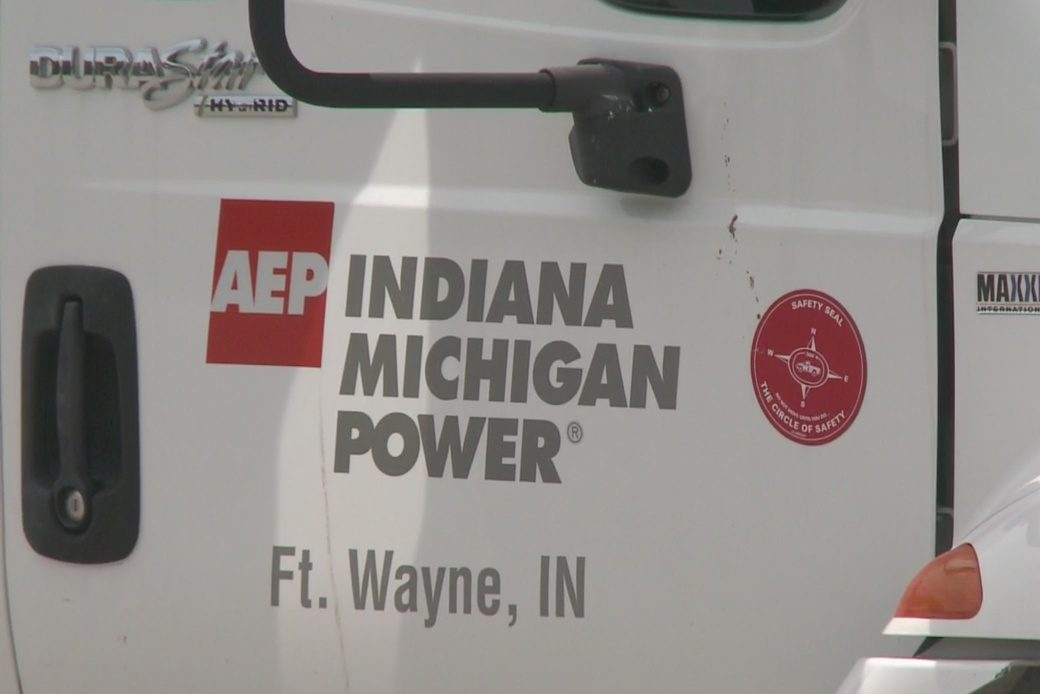 Indiana Michigan Power truck