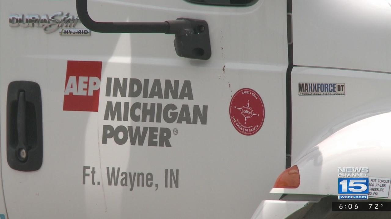 Indiana Michigan Power truck