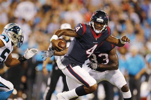 Texans Panthers Football_275653