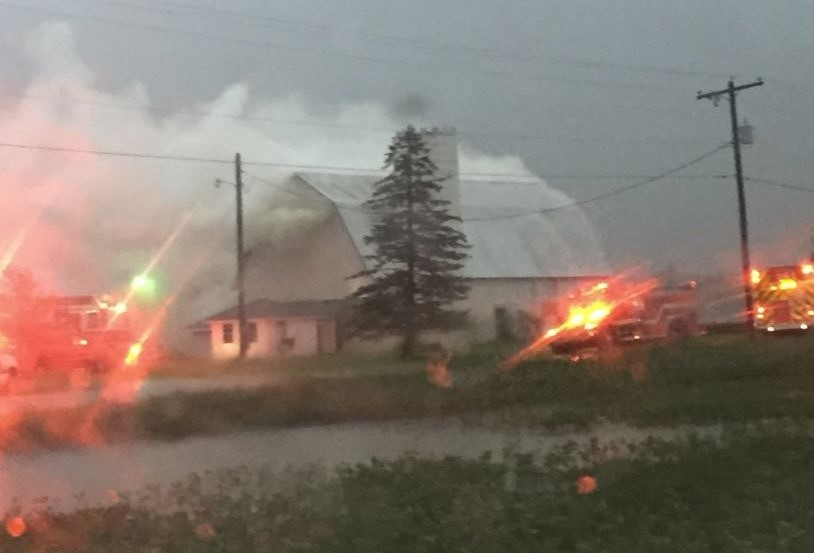 Bass Road barn fire_279686