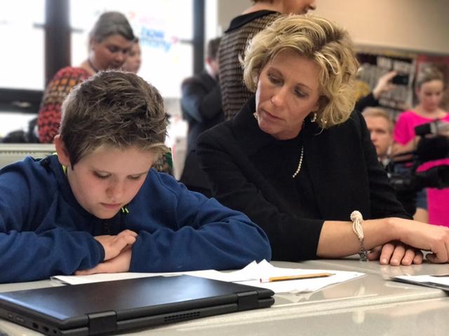 Education Secretary Betsy DeVos Van Wert Schools_255183