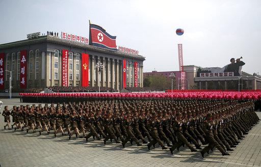 North Korea Founder's Birthday_254369