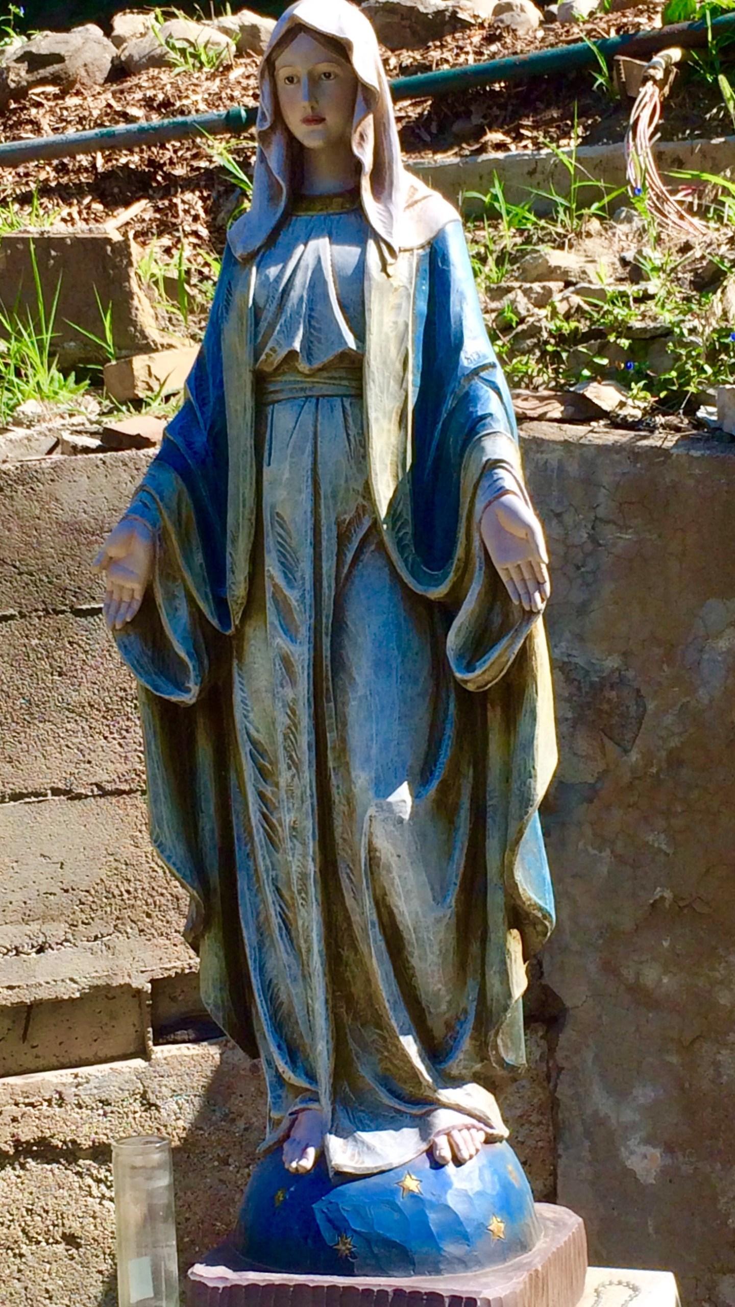 virgin mary statue_274726