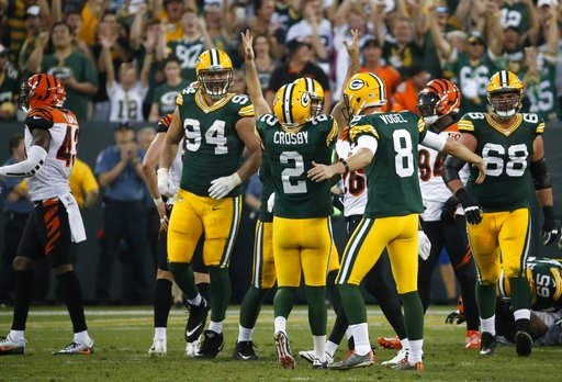 Bengals Packers Football_285465