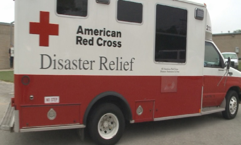 The American Red Cross serving Central Texas opened a shelter to flood victims at Parker Lane United Methodist Church Sunday, May 29, 2016._279403