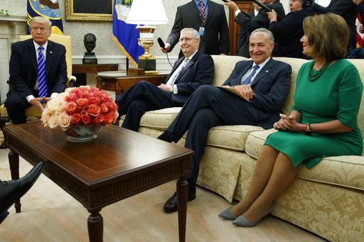 Donald Trump, Chuck Schumer, Mitch McConnell, Nancy Pelosi_281604