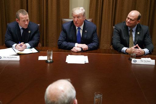 Donald Trump, Tom Reed, Josh Gottheimer_283231