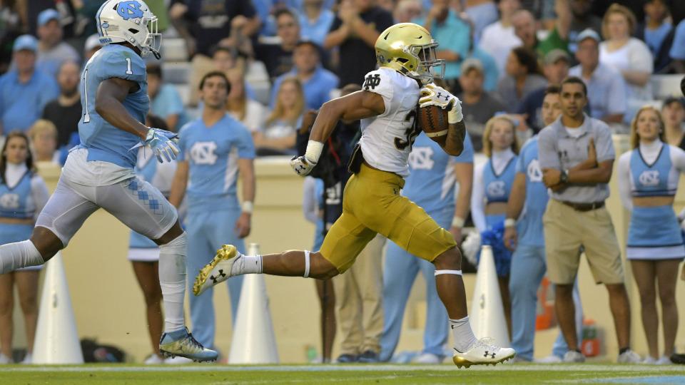 NCAA Football_ Notre Dame at North Carolina_288579