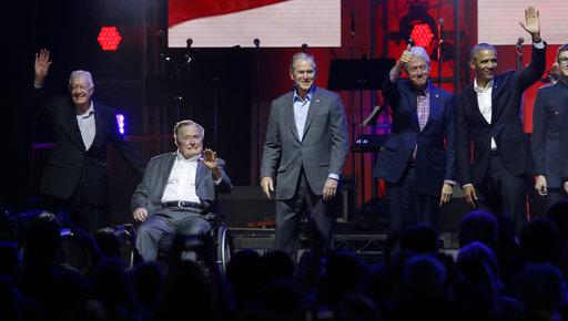 Barack Obama, George Bush, George W. Bush, Jimmy Carter, Bill Clinton_291094