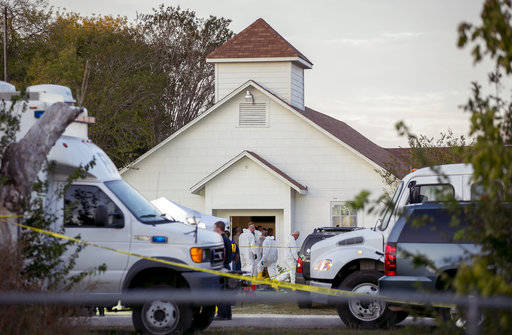 APTOPIX Church Shooting Texas_294140