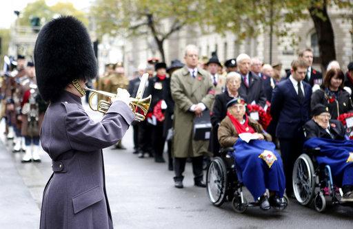 Britain Armistice Day_295279