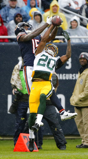 Packers Bears Football_295479