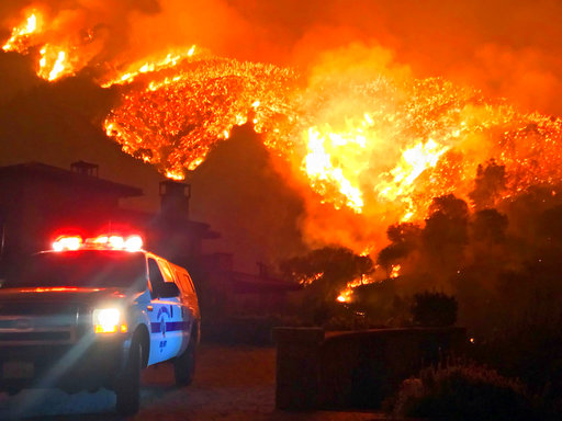 APTOPIX California Wildfires_301630