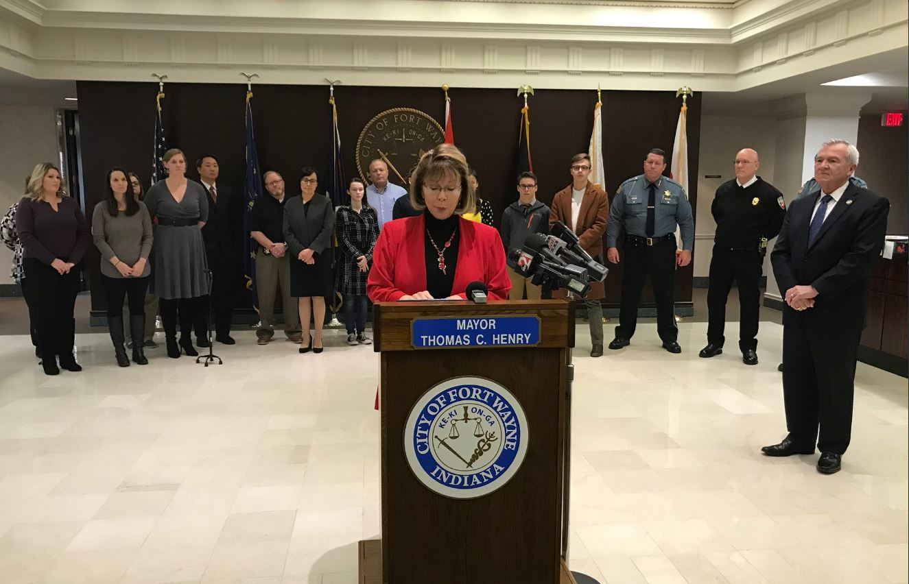Fort Wayne opioid press conference_302461