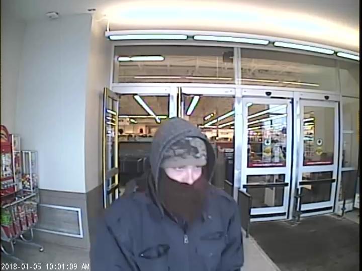 Meijer Bank Robbery Suspect_305552