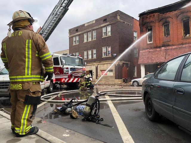 Butler building fire_310416