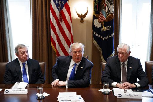 Donald Trump, Steny Hoyer, Dick Durbin_306273