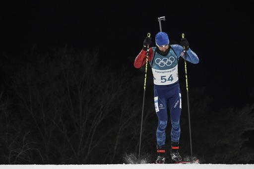 Pyeongchang Olympics Biathlon Men_313691
