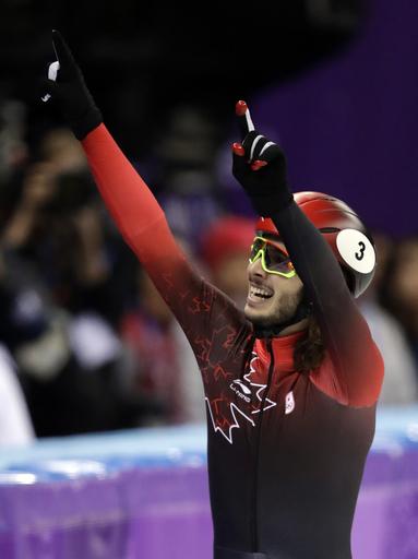 Pyeongchang Olympics Short Track Speed Skating Men_315282