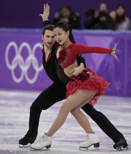 Pyeongchang Olympics Figure Skating Ice Dance_315636