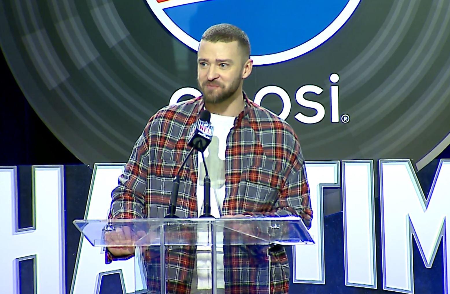 Justin Timberlake Generic Super Bowl LII_311111