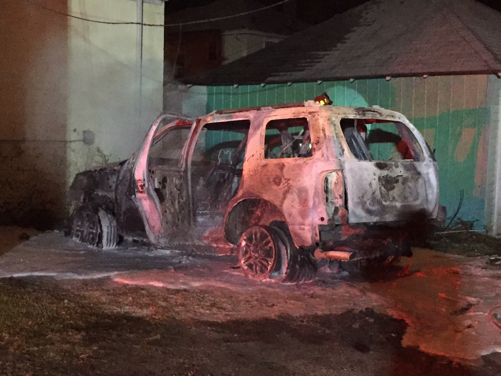 Runnion and High SUV Fire