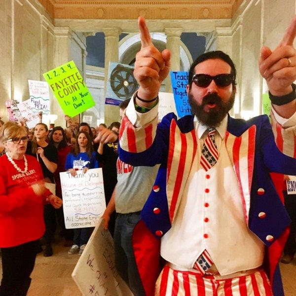 West Virginia Teachers Walkout_318852