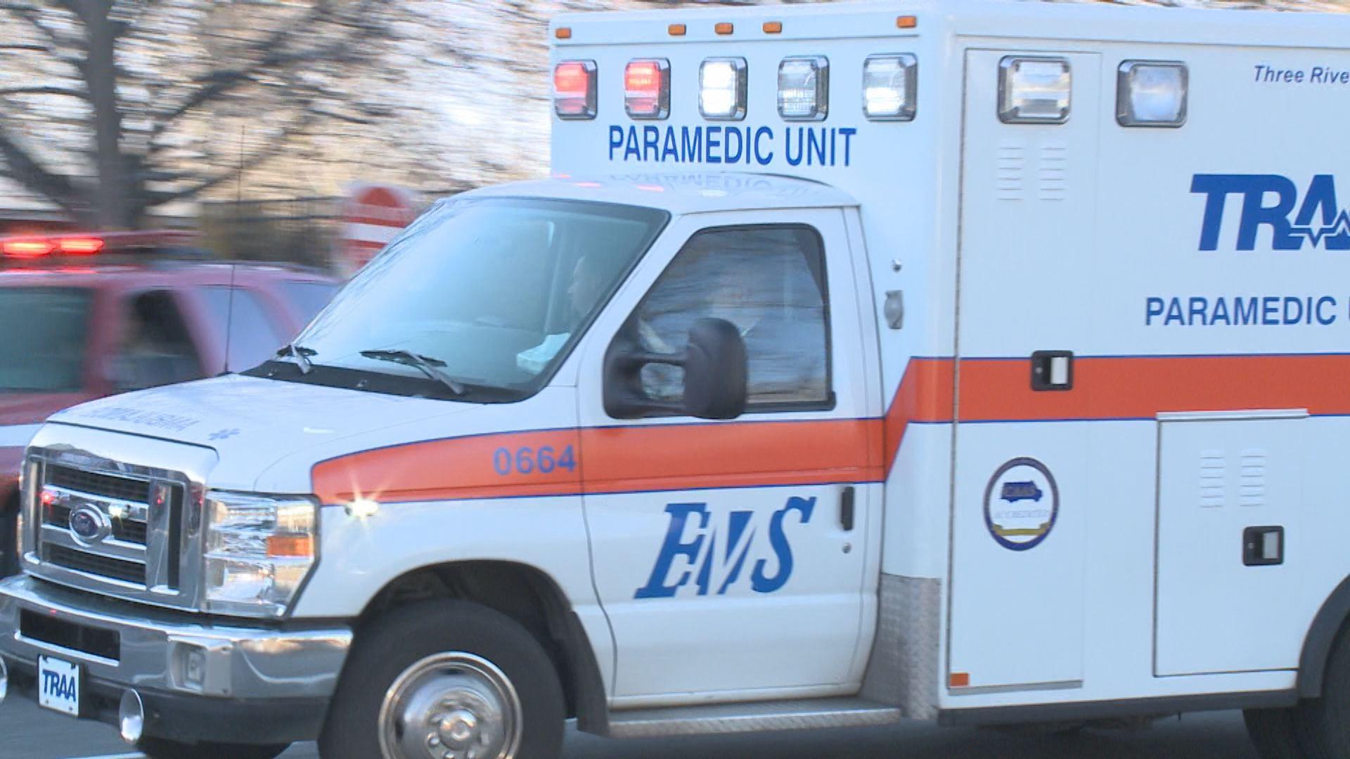 TRAA ambulance
