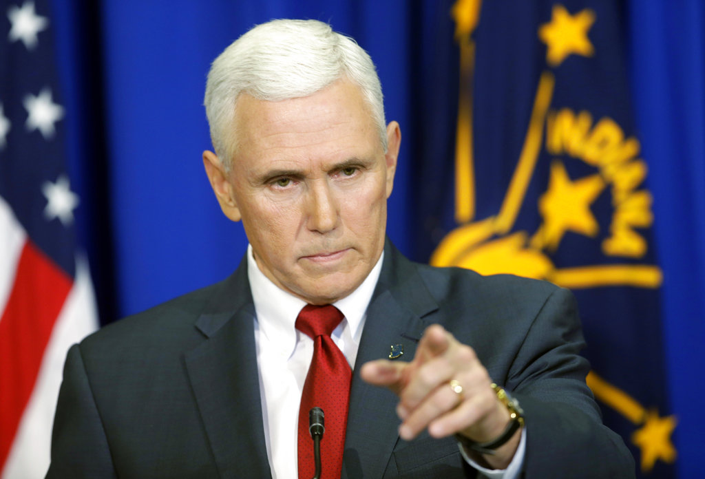 Pence Email criticism