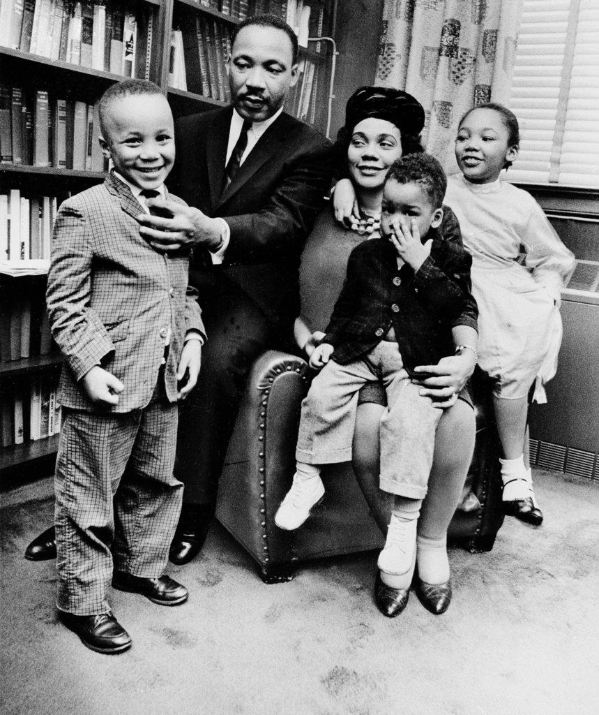 MLK50 King Family