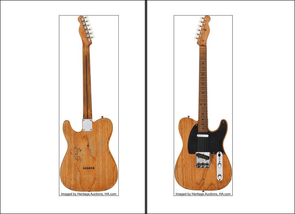 Vaughan Guitar Auction