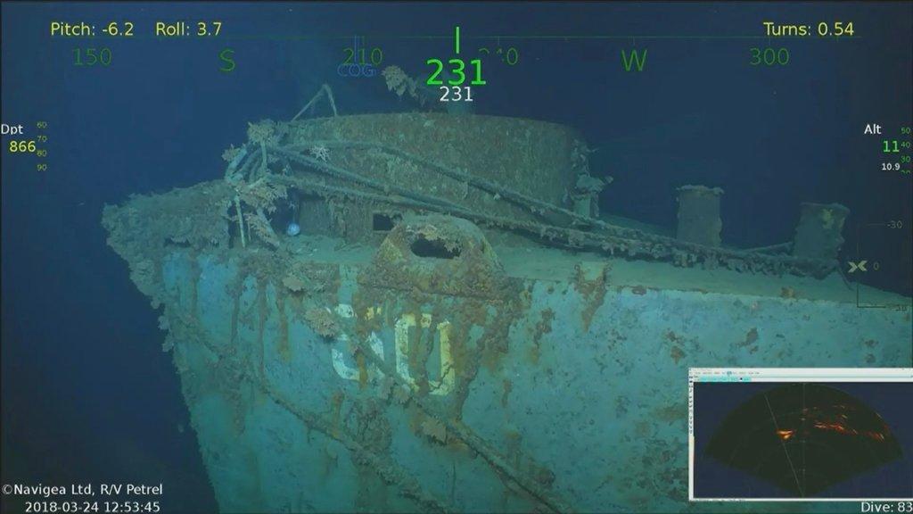 USS Helena Wreckage Found