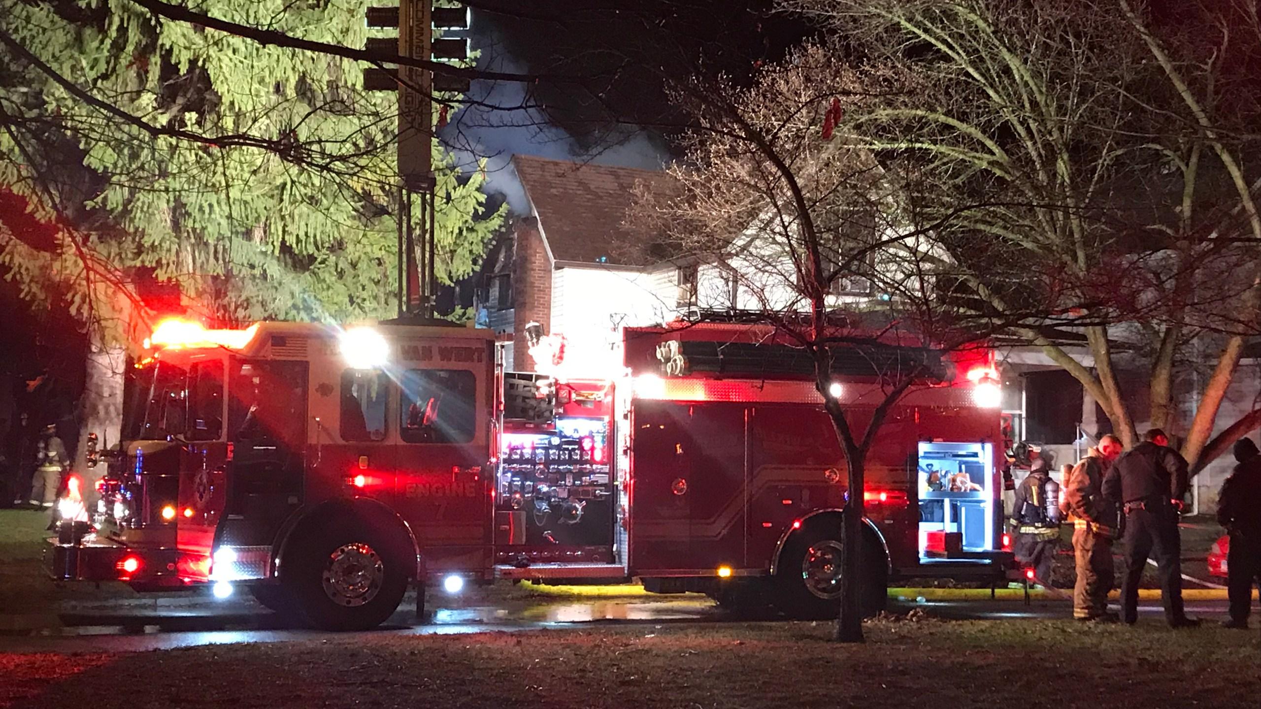 House Fire in Van Wert