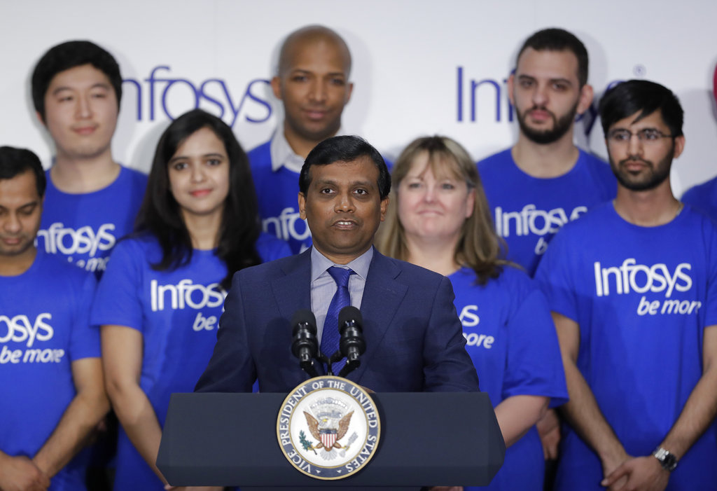 Infosys Indy announcement